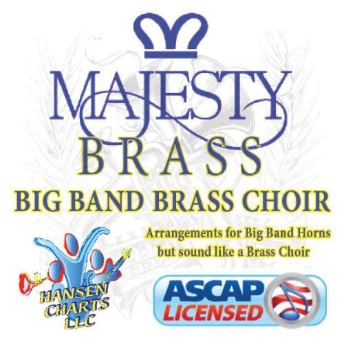 First Additional product image for - I Must Tell Jesus arranged for 5440 Big Band brass choir style