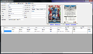sports card collector 2015 - the sports trading card collecting software!