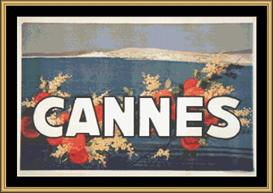 Cannes Vintage Travel | Crafting | Cross-Stitch | Wall Hangings