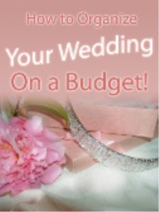 how to organize your wedding on a budget!