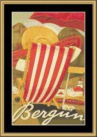 Bergiin Vintage Travel | Crafting | Cross-Stitch | Wall Hangings