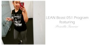 Lean Beast TWO WEEK Program featuring Priscilla Tavernier | Other Files | Everything Else