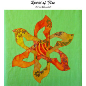 Spirit of Fire applique pattern | Crafting | Sewing | Quilting