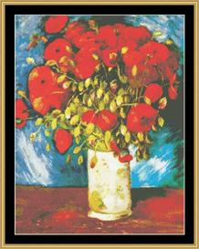 Poppies - Van Gogh | Crafting | Cross-Stitch | Other