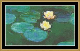 Waterlilies Iii - Monet | Crafting | Cross-Stitch | Other