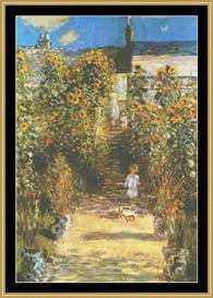 The Artists Garden - Monet | Crafting | Cross-Stitch | Other