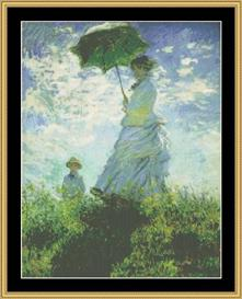 Parasol - Monet | Crafting | Cross-Stitch | Other
