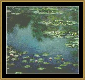 Waterlilies Iv - Monet | Crafting | Cross-Stitch | Other