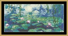 Waterliles Vi - Monet | Crafting | Cross-Stitch | Other