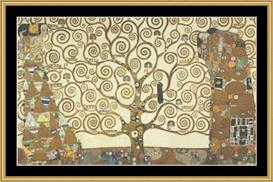 Tree Of Life - Klimt | Crafting | Cross-Stitch | Other