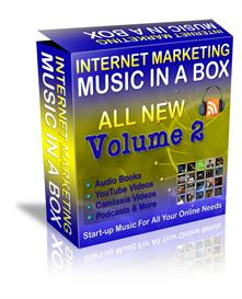 internet marketing music in a box volume 2 resale rights 252 tracks