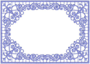 Beautiful Frame 2 - DST | Crafting | Embroidery