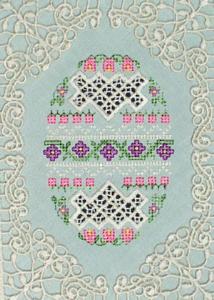 Hardangish Egg 2 - ART   Crafting   Embroidery