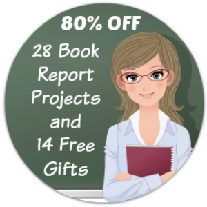 Teacher Appreciation Value Pack: 28 Book Report Projects/14 Free Gifts | Documents and Forms | Templates