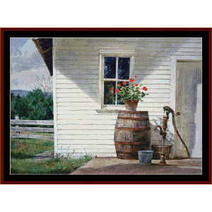 Summer Kitchen - Americvana Ltd. Ed. cross stitch pattion by Cross Stitch Collectibles | Crafting | Cross-Stitch | Other