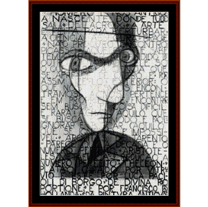 Self Portrait - Almada Negreiros cross stitch pattern by Cross Stitch Collectibles | Crafting | Cross-Stitch | Wall Hangings