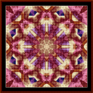 Fractal 486 cross stitch pattern by Cross Stitch Collectibles | Crafting | Cross-Stitch | Wall Hangings