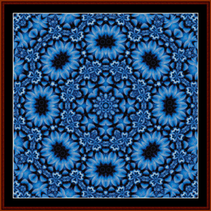 Fractal 487 cross stitch pattern by Cross Stitch Collectibles | Crafting | Cross-Stitch | Wall Hangings