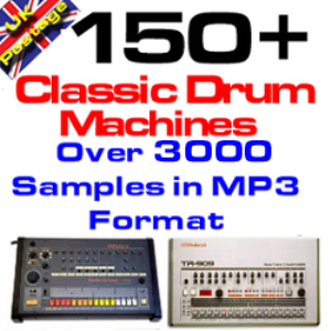 classic drum machines mega collection (mp3 format)