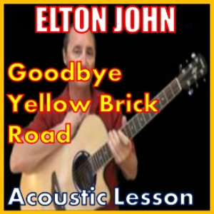 Learn to play Goodbye Yellow Brick Road by Elton John | Movies and Videos | Educational