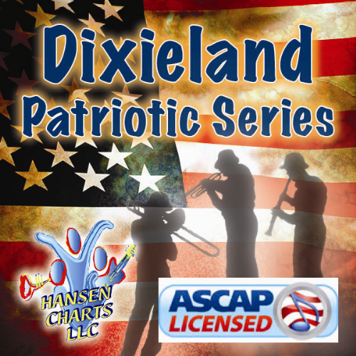 First Additional product image for - God Bless America Arranged for Dixieland Band with optional SATB Choir or singalong