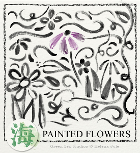 Painted Flowers | Other Files | Graphics
