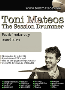 the session drummer. pack lectura y escritura