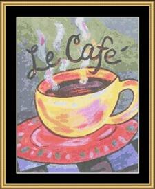 Le Cafe | Crafting | Cross-Stitch | Other