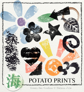 Potato Prints | Other Files | Graphics