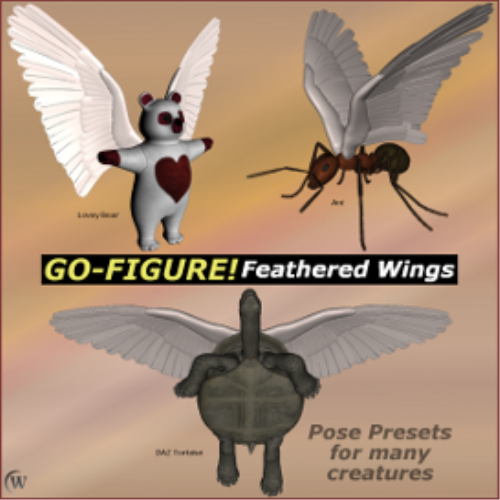 Second Additional product image for - Go-Figure! for Feathered Wings