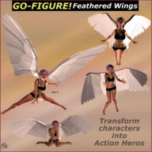 Third Additional product image for - Go-Figure! for Feathered Wings