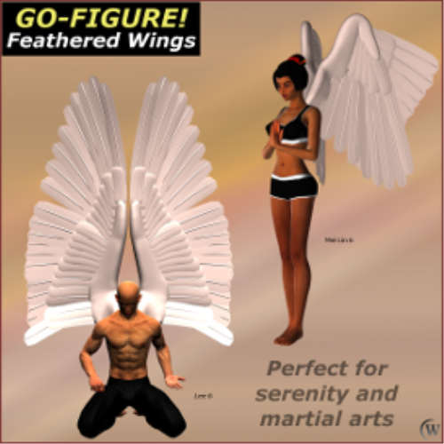 Fourth Additional product image for - Go-Figure! for Feathered Wings