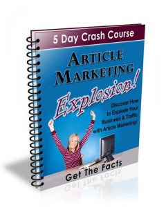 Article Marketing Explosion | eBooks | Business and Money