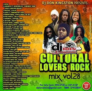 dj don - cultural lovers rock mix vol 28