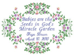 Babies Project JEF | Crafting | Embroidery