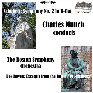 Schubert: Symphony No. 2; Beethoven: Excerpts from the ballet Prometheus - Boston SO/Charles Munch | Music | Classical