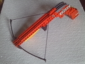 plans for a lego crossbow, with carbon fibre rod