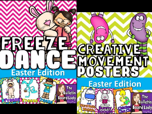 Easter Freeze Dance and Creative Movement | Other Files | Everything Else