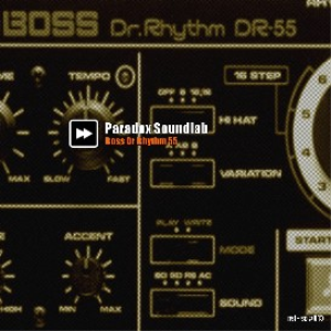 Boss DR 55 - Drum kit | Music | Soundbanks