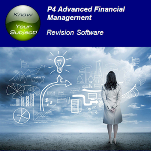 acca p4 advanced financial management revision software