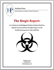 the riegle report & gulf war syndrome