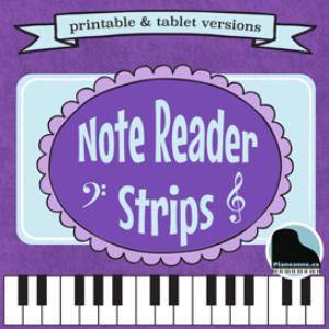 note reader strips