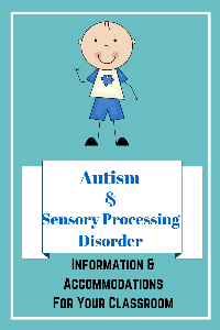 Autism and SPD Info. and Accommodations for School Mini-book | eBooks | Parenting