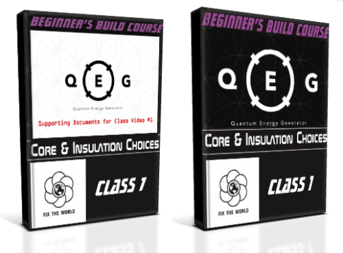 First Additional product image for - QEG Class 1: CORE AND INSULATION CHOICES