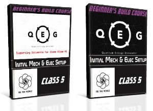 QEG Class 5: INITIAL MECHANICAL AND ELECTRICAL SETUP | Movies and Videos | Educational