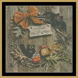 Autumn Wreath - Maxine Gadd | Crafting | Cross-Stitch | Other