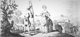 Bovce : Tell me, lovely shepherd : Full score | Music | Classical