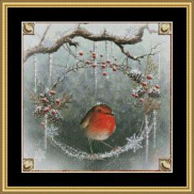 Christmas Wreath - Maxine Gadd | Crafting | Cross-Stitch | Other