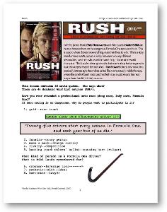 RUSH, Whole-Movie English (ESL) Lesson | eBooks | Education