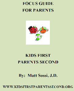 kfps parents divorce workbook